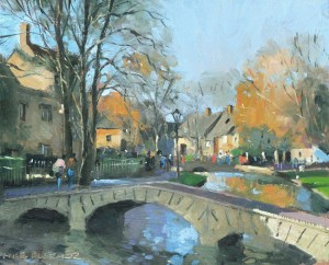 Afternoon stroll in Bourton on the Water. £200