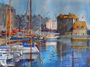 Sunshine in Honfleur  £475