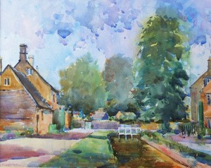 High Summer in Lower Slaughter  £250