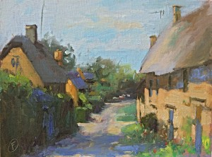 A Quiet Lane in Great Tew
