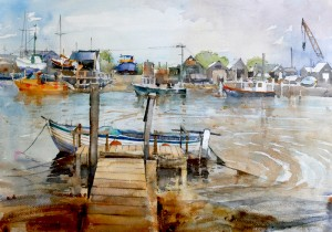 Quayside at Southwold  sold