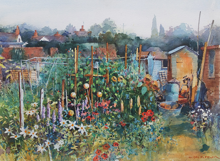 Summertime on the Allotment  £550