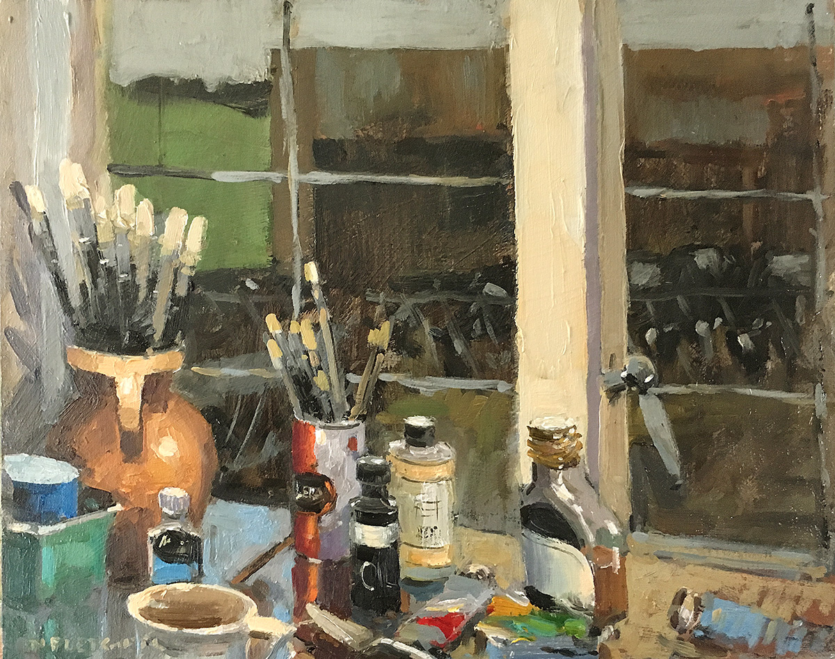 Painter's Worktable