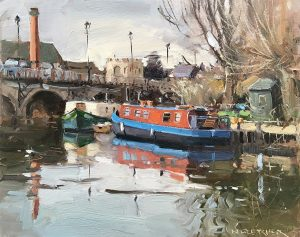 The Red barge, Stratford Avon