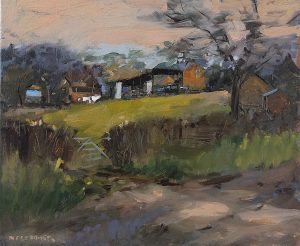 Farmstead & washing line, Epwell