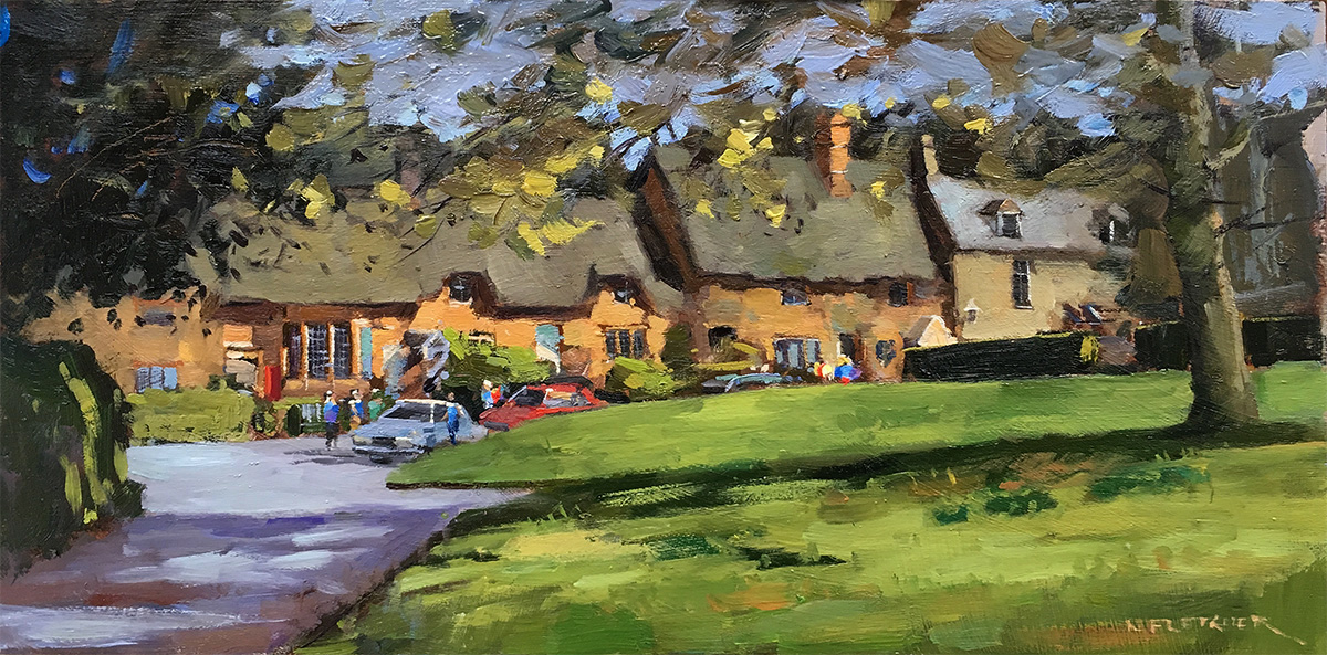 Cottages in Great Tew