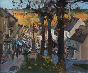 evening light, Burford