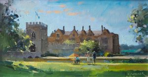 Painters at Broughton Castle