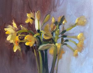 Narcissus in half light
