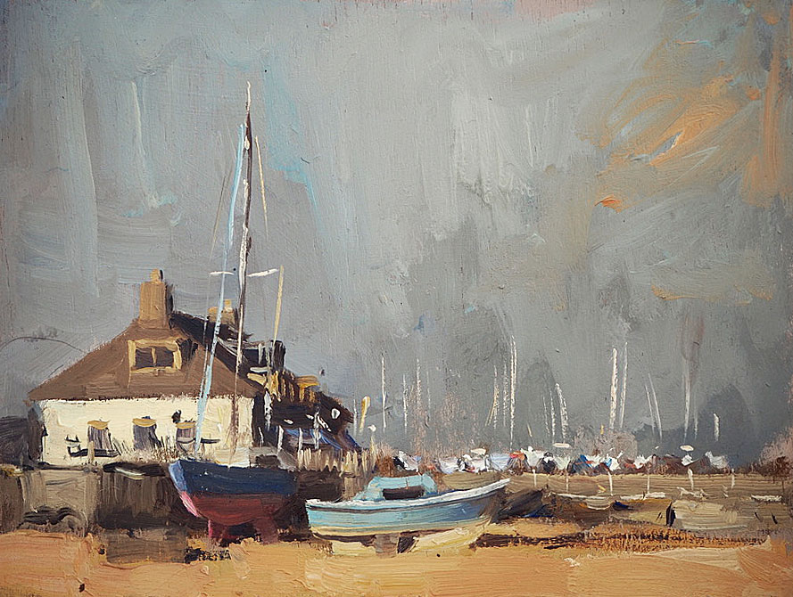 Harbour at Itchnor